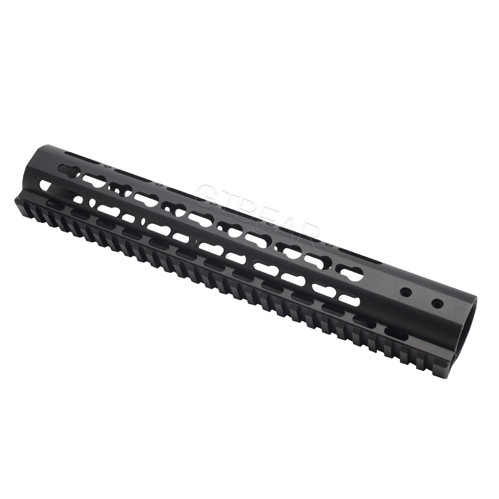 Aircraft Aluminum ar15 gun barrel carry handle handguard 12inch