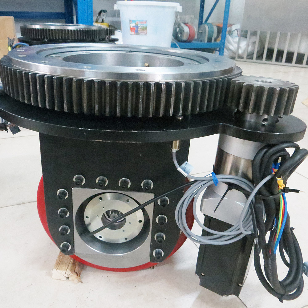 Extra heavy duty load Automated Guided Vehicles Steering Wheel for making unmanned fork lift truck