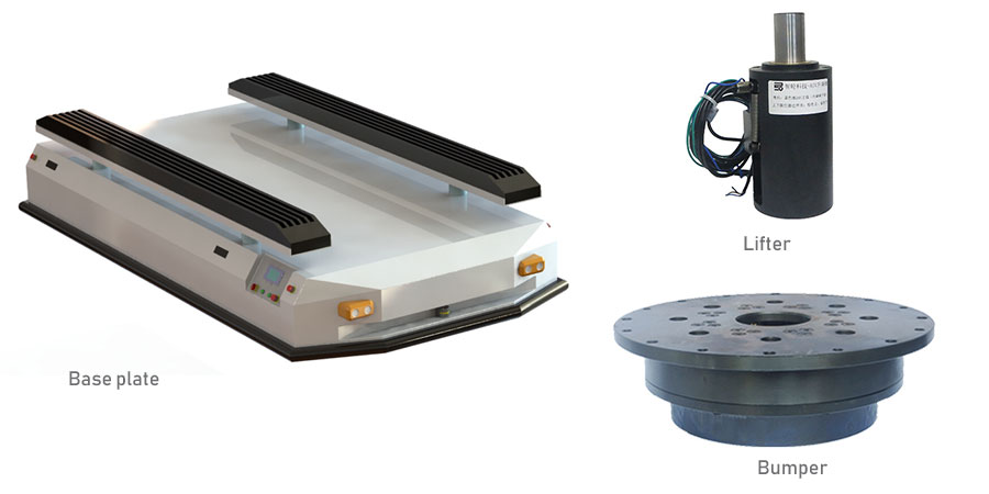 Automated Guided Vehicles parts & Accessories