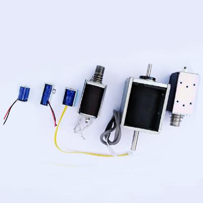 Push pull electromagnets