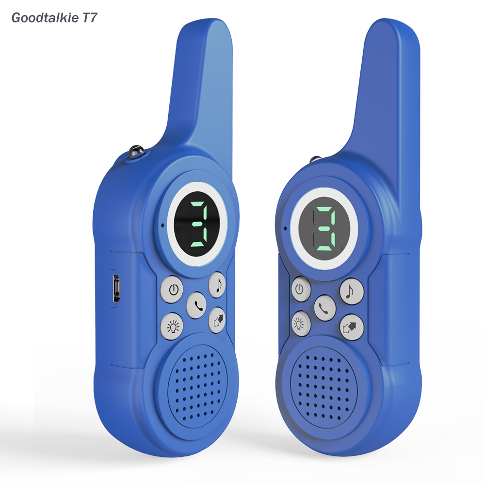 T7 Game gifts mini kids intercom for family hiking camping