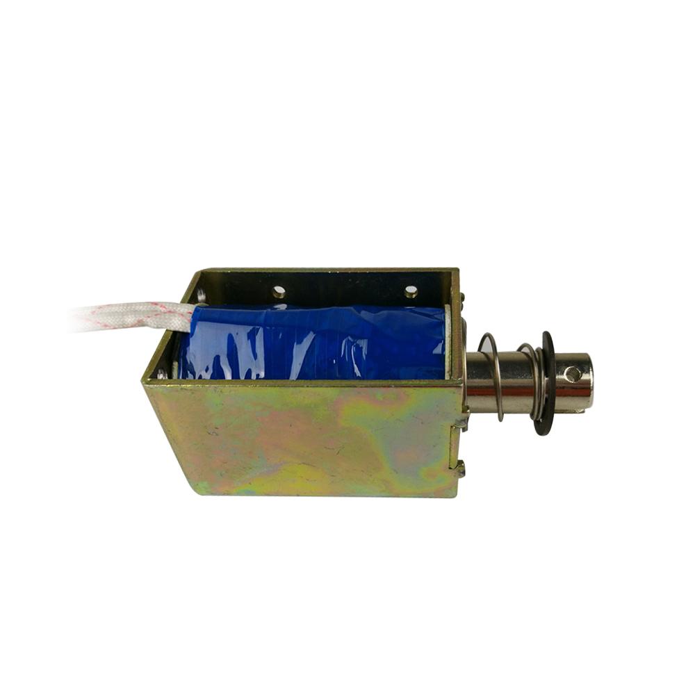 Mini Dc Open Frame Solenoids Long Stroke Push Pull Solenoid